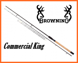Browning Commercial King 2,7m 226gr, Nehéz Feeder Bot