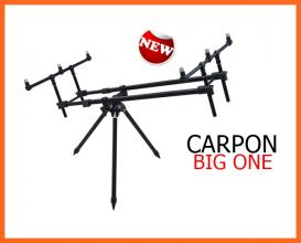 Carpon Big One Három Lábú Fekete Három Botos Rod Pod