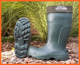 ET Outdoor Camminare Ultra Bélelt Thermo -40C Téli 43-as, Horgász Bakancs