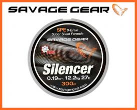 Savage Gear 8X Silencer Braid 0,09mm 120m , Fonott Zsinór