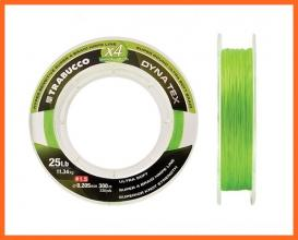 Trabucco Dyna Tex Power Lime Yellow 150m 0,10mm Fonottzsinór