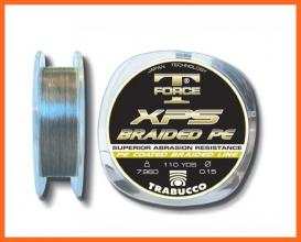 Trabucco T Force Xps Braided 275m 0,10mm Fonott Zsinórok