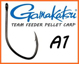 Gamakatsu A1 Team Feeder Pellet Carp 10db 8-as, Feeder Horog
