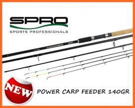 Spro Power Carp 3,9 m 60-140 gr, Feeder Botok