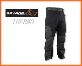 Savage Gear Black Trousers Nadrág L-es