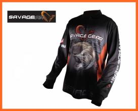 Savage Gear Tournament Jersey Hosszú Ujjú Póló S-es